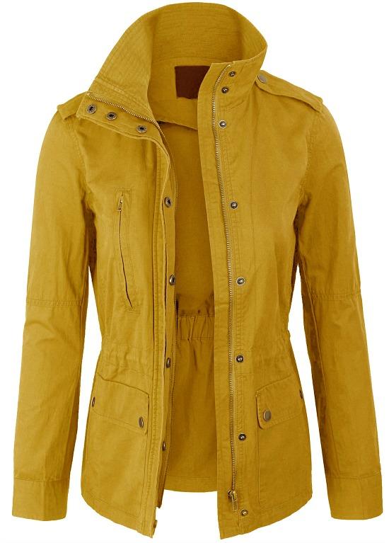 Military Anorak Safari Jacket Coat