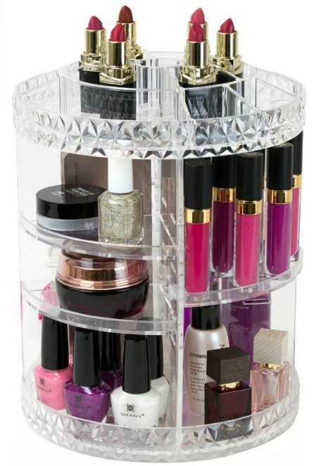 Sorbus Rotating Makeup Organizer