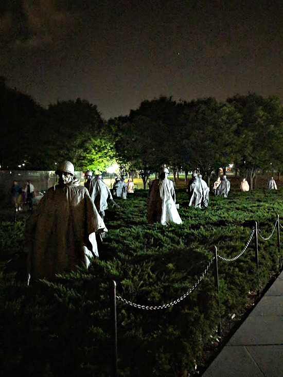 The Korean War Veterans Memorial