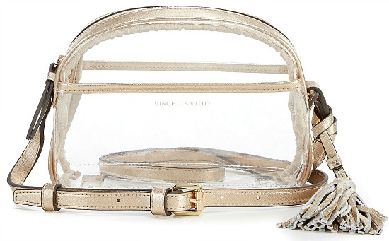 Vince Camuto Aryna Clear Cross-Body Bag