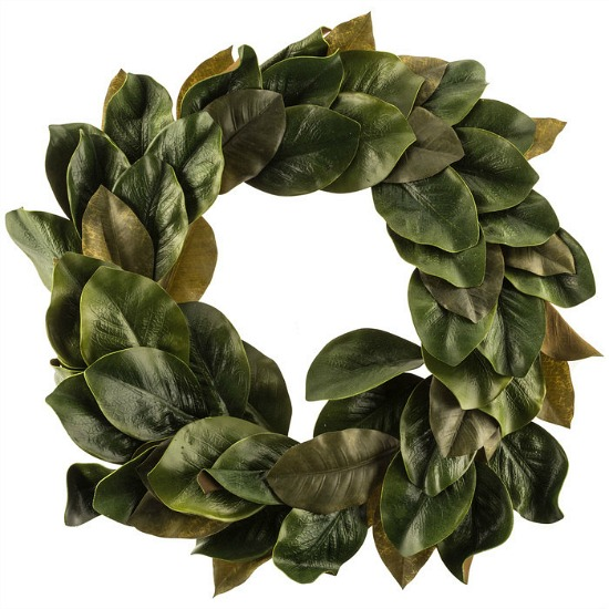faux-magnolia-wreath