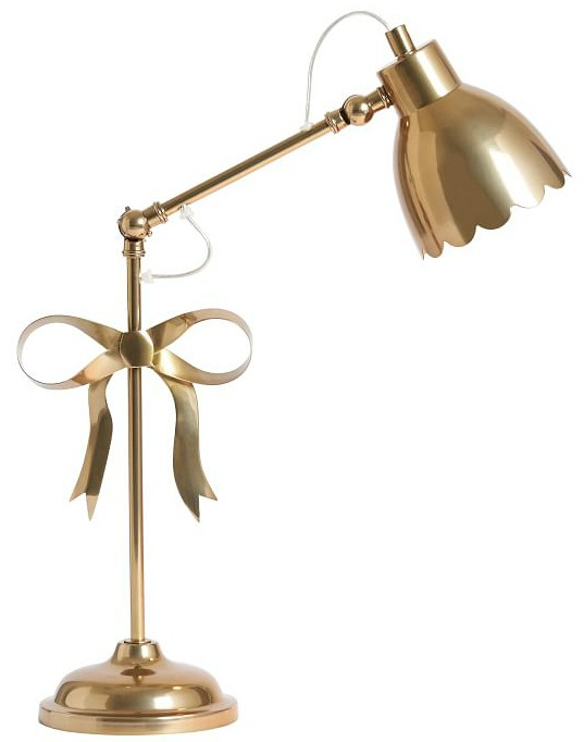 The Emily & Meritt Bow Task Lamp