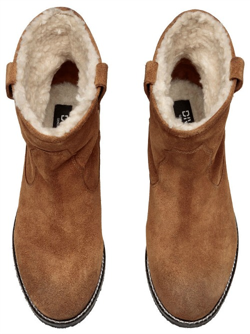 Warm Lined Suede Boots