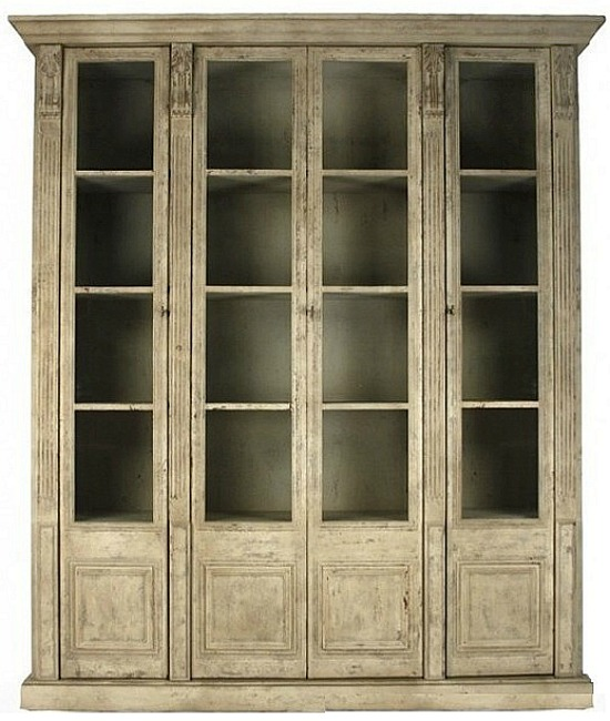 Distressed Reclaimed Pine Cabinet