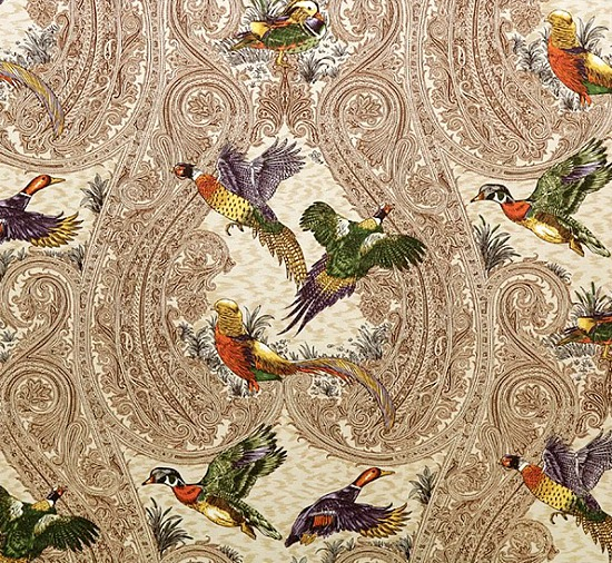 P KAUFMANN GAME BIRDS HERITAGE DUCKS PHEASANTS OVER PAISLEY