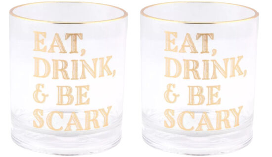 eat, drink, and be scary tumbler
