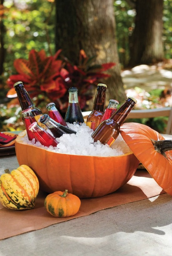 Halloween-pumpkin-beverage-holder