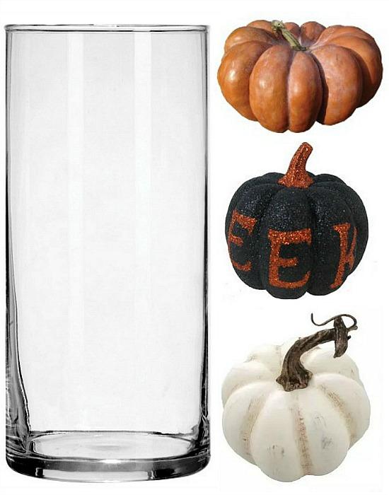 Halloween-pumpkin-table-display