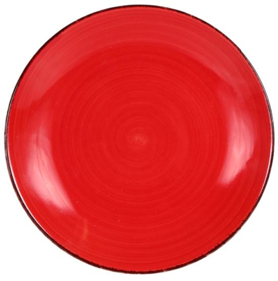 Royal Norfolk Red Swirl Side Plate