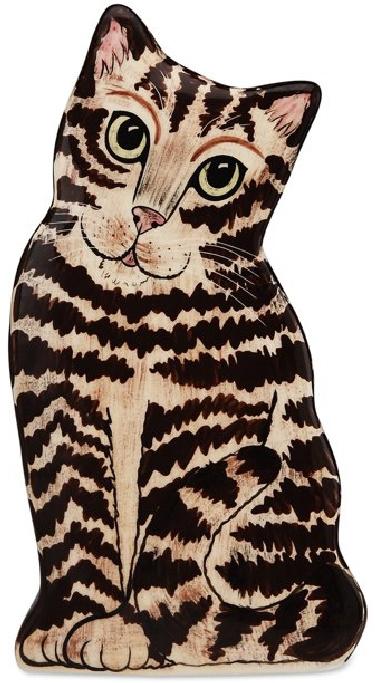 Tabby Cat Vase