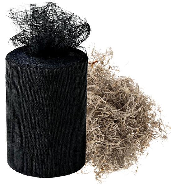 black-tulle-Spanish-moss