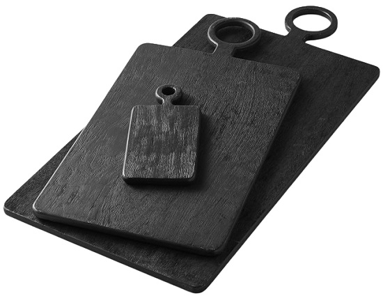 black-wood-rectangular-cheese-boards-assorted-sizes