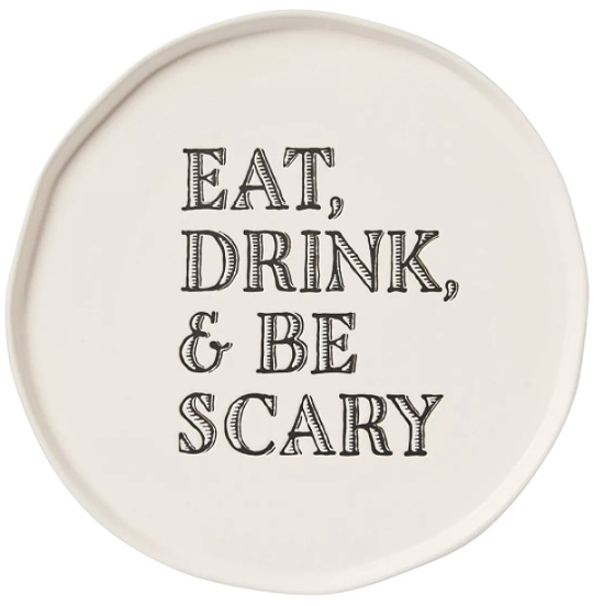 Eat, Drink and Be Scary Serving Platter - Threshold™