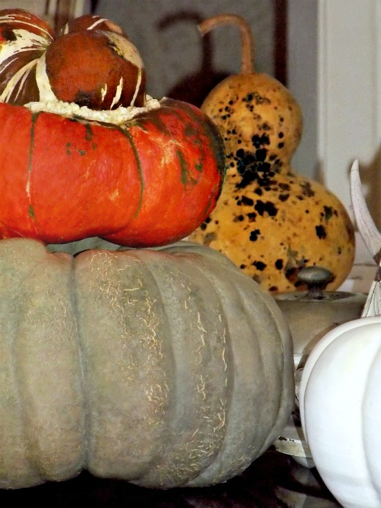 fall decorating around the house