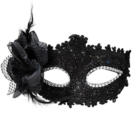 masquerade-black-mask