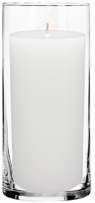 pillar-candle-in-tall-glass-cylinder-holder