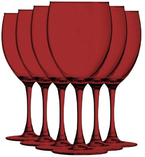 red-vibrant-color-wine-goblets