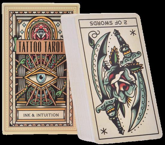 Tattoo Tarot Board Game Cards