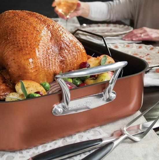 Nordic Ware Copper Roaster XL Large