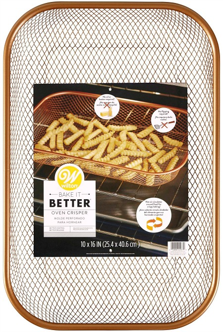Wilton Bake It Better Copper Oven Crisper Basket