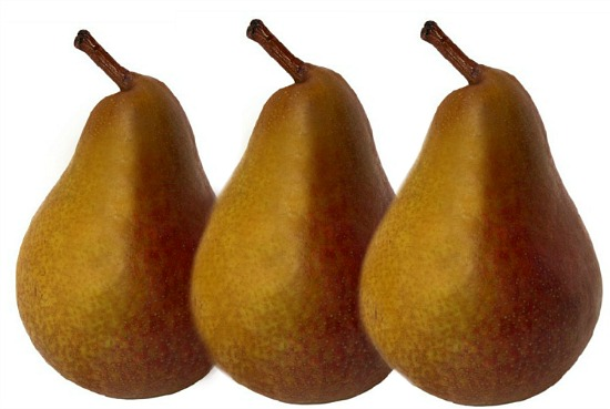 pears-Thanksgiving