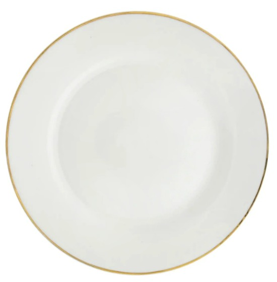 white-dinner-plate-gold-rimmed
