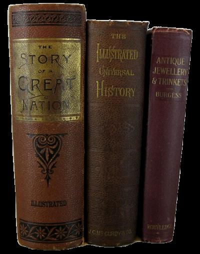 Antique Decorative Books for Dark Academic Decor