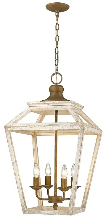 Baugher 4-Light Lantern Pendant