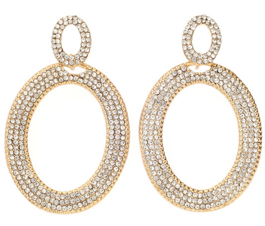 Bijoux-Bar-Clear-Drop-earrings