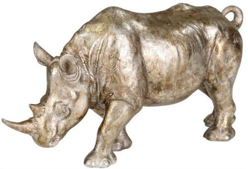 Davenport+Resin+Rhino+Sculpture