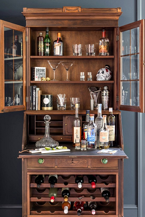 Eclectic Home Bar, New York