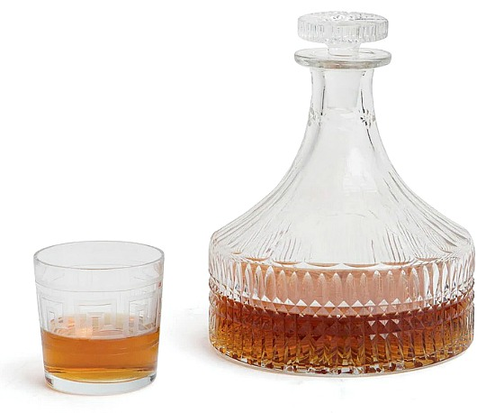 Hand Cut and Polished Orson Decanter