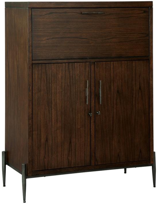Howard Miller Open Cellar II Solid Wood Foyer Liquor Cabinet