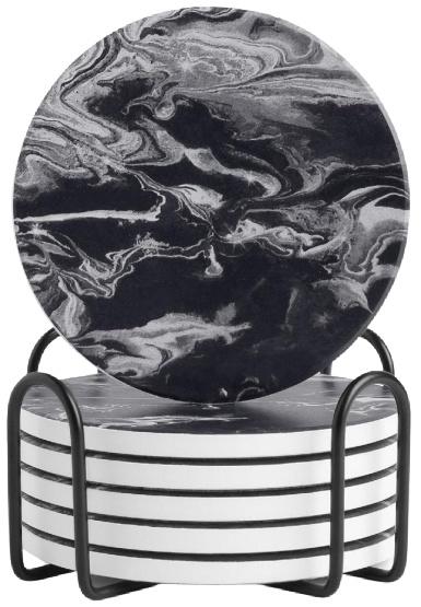 LIFVER-Ceramic-Coaster-Set-with-Holder