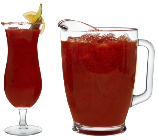Libbey-bloody-mary-set-hurricane-glasses-pitcher