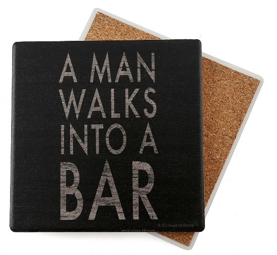 Man Walks Coasters