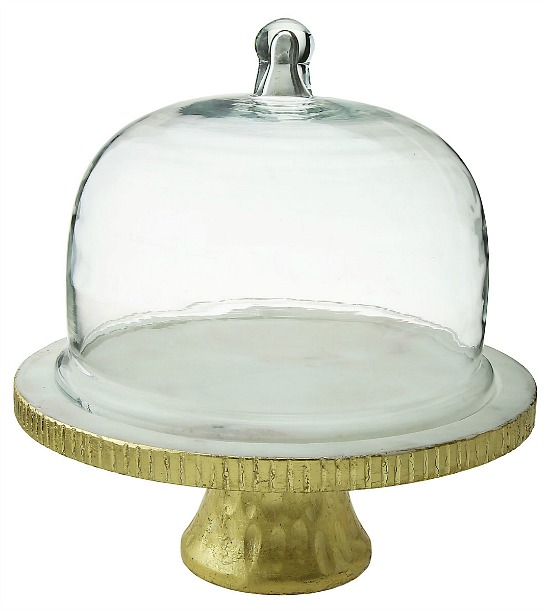 Marble Dome Cake Stand