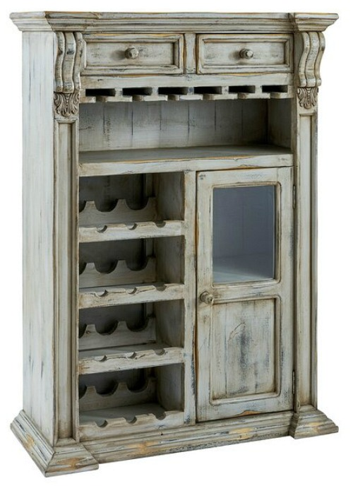 Oubre Bar with Wine Storage