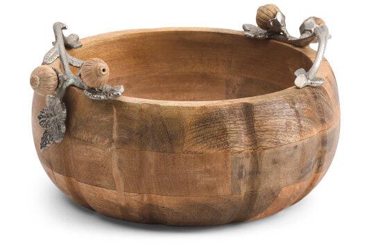 Pumpkin Wood Bowl
