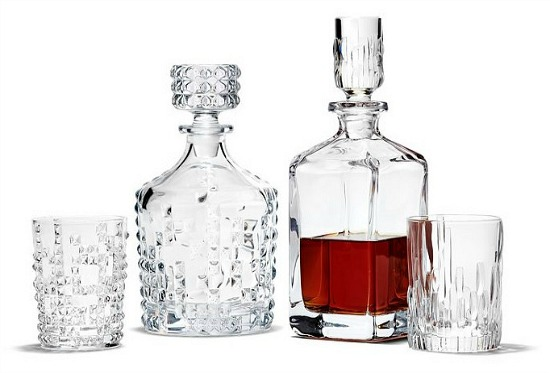 Punk Whiskey Decanter and Double Old Fashioned Set