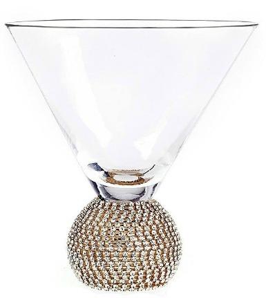 Qualia Bling Martini Glasses (Set of 2)