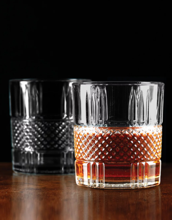 Set of 4 Double Old-Fashioned Glasses