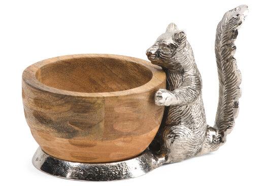 Squirrel Wood Bowl