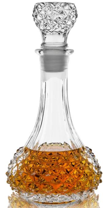 Studded Glass Decanter by Viski