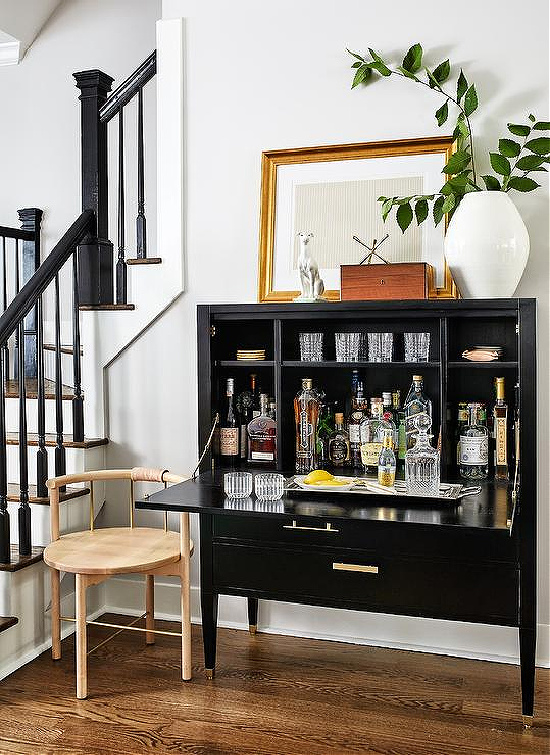 black-bar-cabinet-with-gold-feet