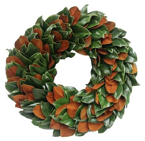 dark magnolia wreath