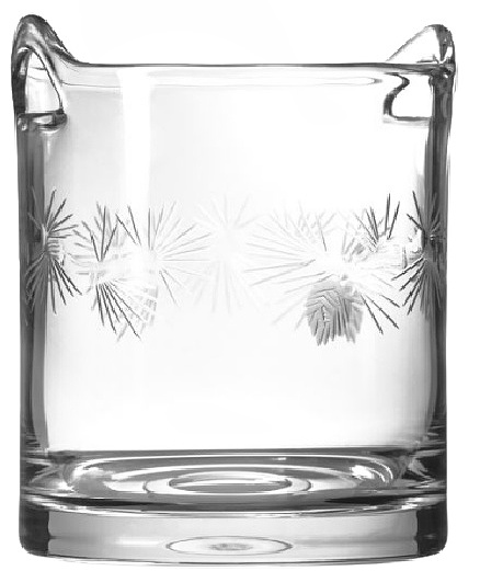 Icy Pine Clear Champagne Ice Bucket