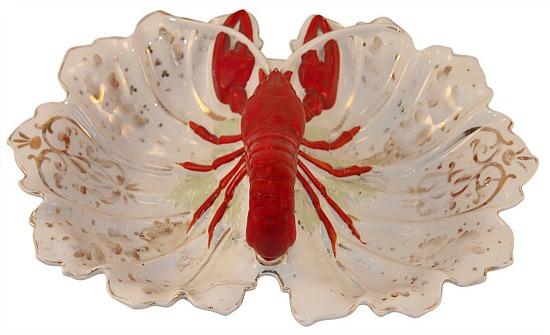 1940s Vintage Lobster Dish