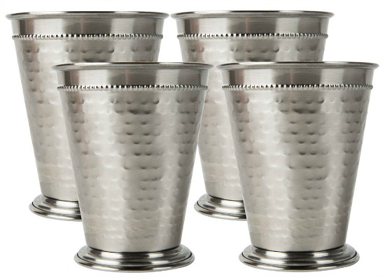 mint julep cups set