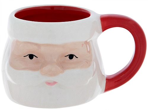 santa mini espresso mug